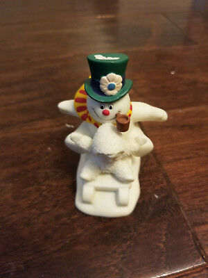 Department 56 SNOWBABIES 'FUN WITH FROSTY THE SNOWMAN' FIGURINE # 56.06022