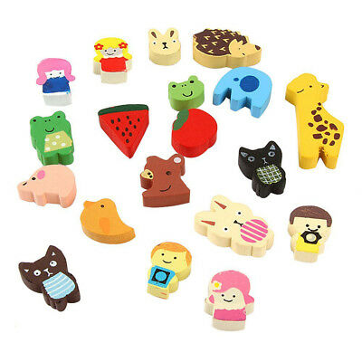Colorful funny animals refrigerator magnets (19 random patterns) R1G5