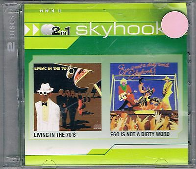 Skyhooks - Living In The 70's / Ego Is Not A Dirty Word Double Cd