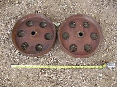 Original Cast Iron Gas Engine Wheels