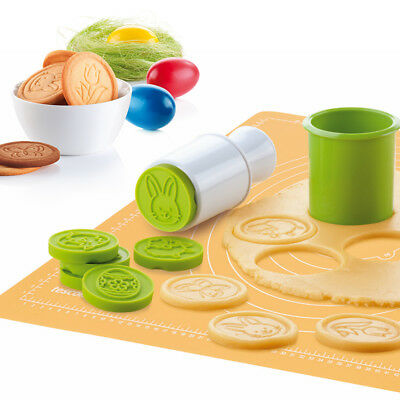 6pcs/set Cartoon Stamps Molds Christmas Tree Cookies Cutter Biscuit Mould Baking