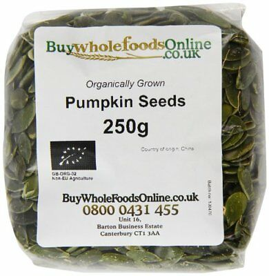 Buy Whole Foods Organic Pumpkin Seeds 250 g