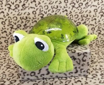 Cloud B Tranquil Frog Green Soothing Plush Nursery Light Ocean Projector Music