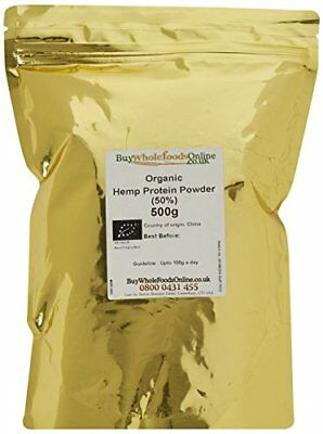Buy Whole Foods Organic Hemp Protein Powder 500 g