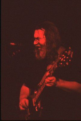 Jerry Garcia - Garcia Band, original 35mm transparency film