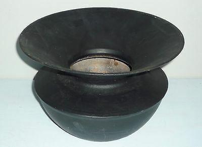Genuine Antique Rare CAST IRON Tobacco Cutplug SPITTOON < S D / Gate Mark