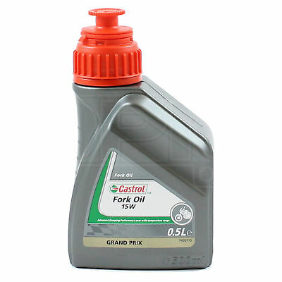 Castrol 15w Fork Oil - 500ml - 0.5L Motorbike fork oil - motorcycle fork oil