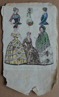 Scrapbooking picture VICTORIAN LADIES fashion/costume/dress/hats