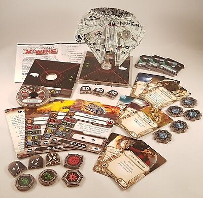 Star Wars X-Wing Miniatures - X-Wing Core Set & Millennium Falcon Expansion Pack