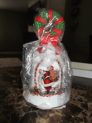 Christmas Avon Fine Collectibles - 1995 Holiday Bell - Santa with List - NEW