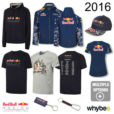 Sale! 2016 Red Bull Racing F1 Formula One Team Official Merchandise Collection