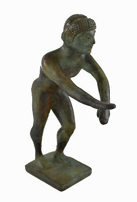 Ancient Greek bronze Athlete from Olympia statue sculpture artifact
