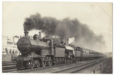 GNR Great Northern Railway Engines 60 & 1441, Newcastle Line RP Postcard c1920s