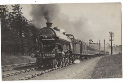 GNR Great Northern Railway Engine #1459, RP Postcard 1920s
