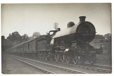GNR Great Northern Railway Ivatt Atlantic #284, RP Postcard 1920s