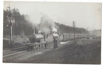 GNR Great Northern Railway Engines 1346, Ivatt D4 Class, RP Postcard c1920s
