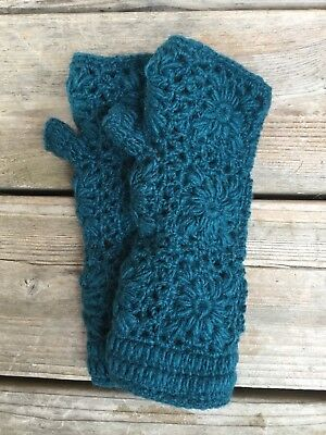 fingerless gloves wool - last pair!