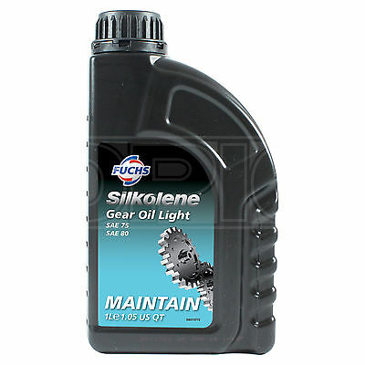 Silkolene Gear Oil Light Competition & Road Motorcycles Gear Fluid 1 Litre 1L