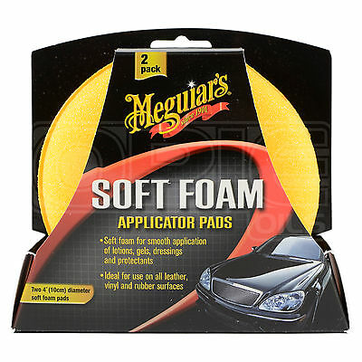 Meguiars Soft Foam Applicator Pads 2 Pack