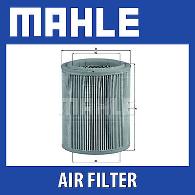 Mahle Air Filter LX297 - Fits Fiat - Genuine Part