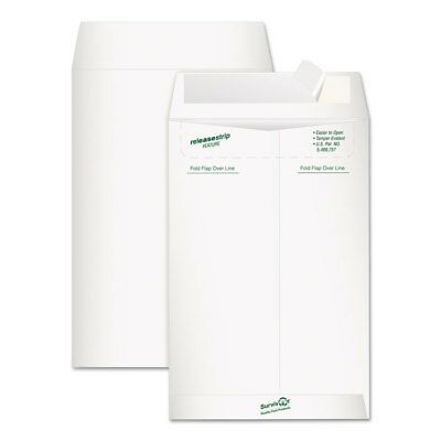 Survivor Tyvek Mailer Side Seam 6 x 9 White 20/Pack R1319