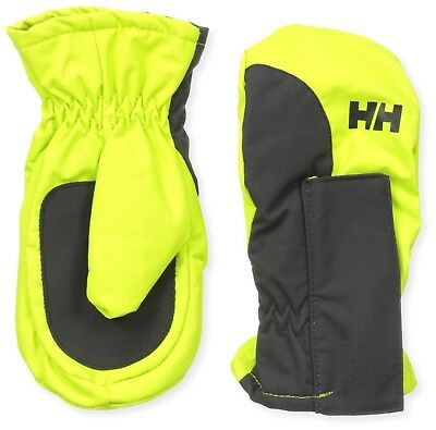 (6, Lime) - Helly Hansen K Padded Mittens – Mittens Unisex. Shipping is Free