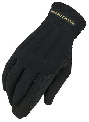 (10/11, Black) - Heritage Power Grip Glove. Heritage Products. Brand New