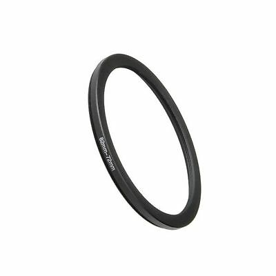 Fotodiox Metal Step Down Ring Filter Adapter Anodized Black Aluminum 82mm-72m...