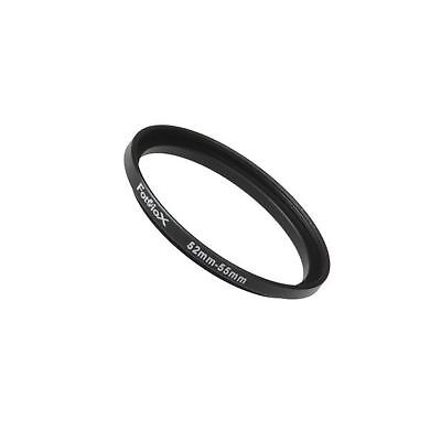 Fotodiox Metal Step Up Ring Filter Adapter Anodized Black Aluminum 52mm-55mm ...