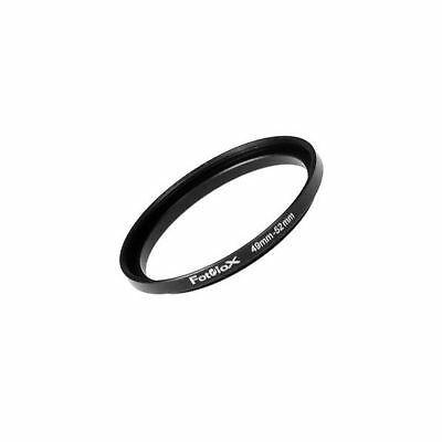 Fotodiox Metal Step Up Ring Filter Adapter Anodized Black Aluminum 49mm-52mm ...