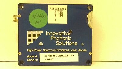 Innovative Photonic Solutions High-Power Spectrum Laser Module I0785MD0300MF-NT