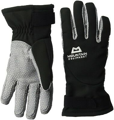 (Black/Titanium, X-Small) - Super Alpine Glove Women - Softshell-Handschuh Damen