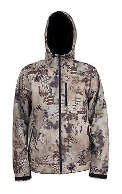 (X-Small, Kryptek Highlander Camo) - Grundens Gauge Midway Softshell Jacket