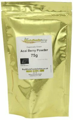 Buy Whole Foods Organic  Acai Berry Powder 75 g