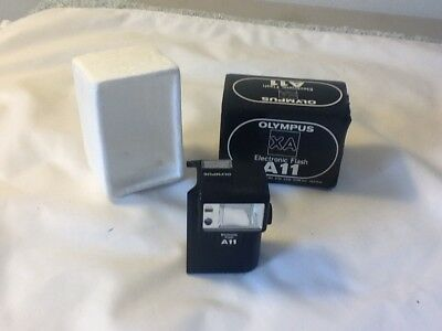olympus XA A11 electronic flash only in box