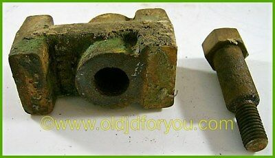 John Deere 420 Front Axle Spacer with Bolt - M3241T and M3365T - Why buy new?