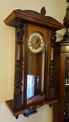 antique vienna wall clock delivery by hermes signed for £15