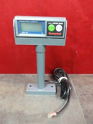 Honeywell Mettler Toledo Scale Readout Display pole with cable