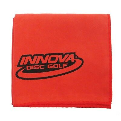 (Red) - Innova DewFly Microsuede Disc Golf Towel. Delivery is Free