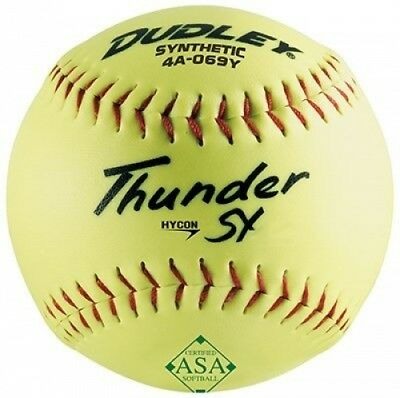(1) - Spalding Sports Div Russell 4A-069YP 30cm YEL SloPitc Softball