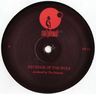 DETROIT TECHNO - The Martian – Revenge Of The Wolf - Red Planet – MIKE BANKS