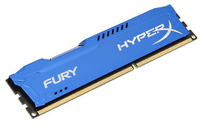 8GB Kingston HyperX Fury DDR3 PC3-12800 1600MHz CL10 Single Memory Module