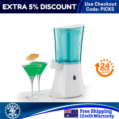 1L Frozen Drink Machine Crushed Ice Slush Slurpee Puppy Cocktail Slushie Maker