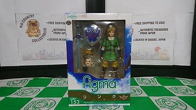 (NEW / OPEN) Max Factory figma: The Legend of Zelda: Skyward Sword Link Figure