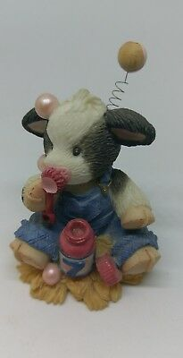 """Mary's Moo Moos """"A Bubbly Seven Year Old"""" Figure"""