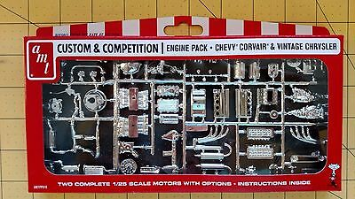 Custom & Competition Engine Pack Chevy Corvair & Vintage Chrysler 1/25 AMTPP010