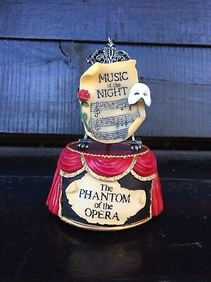 Phantom Of The opera San Francisco Music Box Co Music Of The Night Music Box