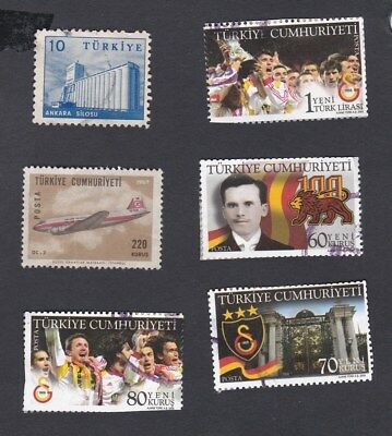 TURKEY small selection  stamps pictured - see description