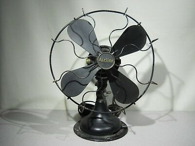 RARE - Antique - SEMCO AIRLINE - Electric Fan - WORKING - MONTGOMERY WARD & CO.