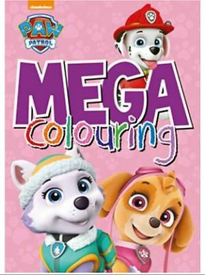 PAW Patrol Mega Colouring - Pink by Parragon Books Ltd Paperback Book
